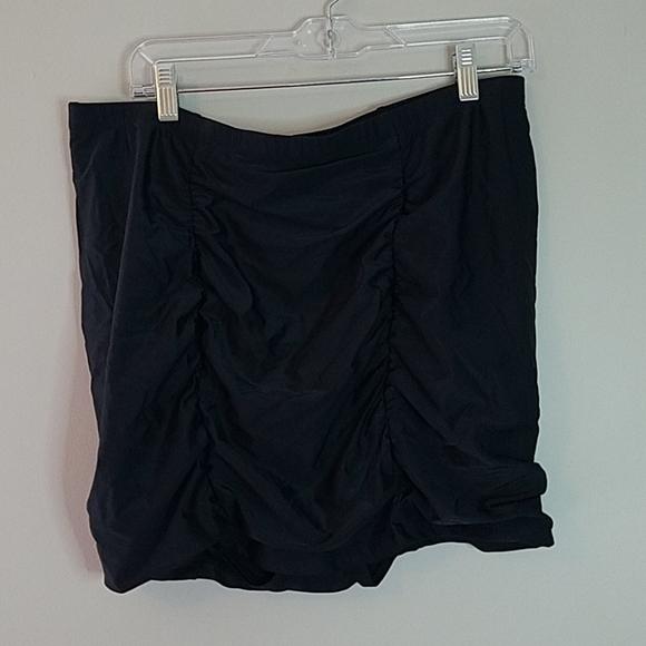 Torrid Ruched Skirted Bikini Bottom NWT